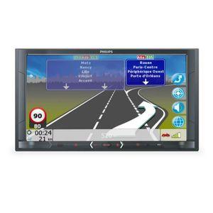 AUTORADIO PHILIPS CE 600 N Autoradio Multimedia GPS - Ecran