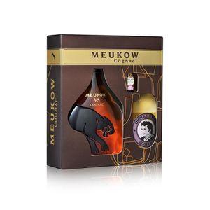 DIGESTIF EAU DE VIE Meukow Cognac 35cl  - Coffret Cocktail Horse's Nec