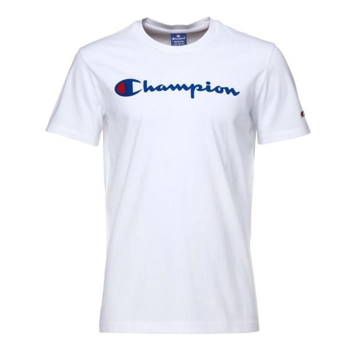 Tee shirt champion homme - Achat   Vente pas cher 12d2a4654ce1