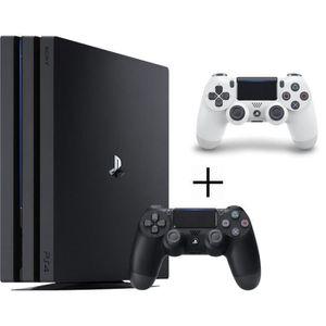 CONSOLE PS4 NOUVEAUTÉ Pack Playstation : PS4 Pro 1To Noire + Manette Dua