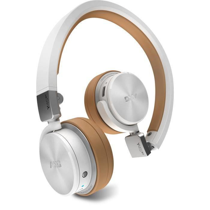 Akg Y45bt Casque Pliable Bluetooth Blanc