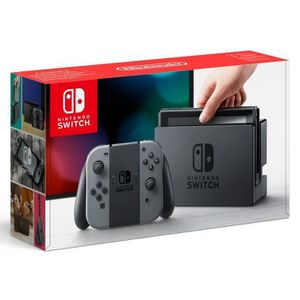 CONSOLE NINTENDO SWITCH Console Nintendo Switch avec paire de Joy-Con gris