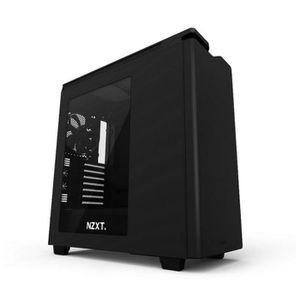 BOITIER PC  NZXT Boîtier PC H440 - Noir mat - Moyen Tour - Fen