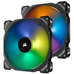 VENTILATION  CORSAIR Ventilateur ML140 PRO RGB - Twin Fan Pack