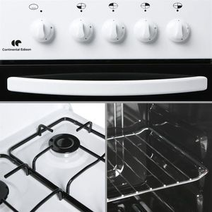 Cuisiniere Mixte Foyer Electrique Foyer Gaz Achat Vente - Cuisiniere mixte 2 gaz 2 electrique pour idees de deco de cuisine