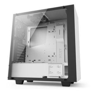 BOITIER PC  NZXT Boîtier PC S340 - Elite Blanc - Moyen Tour -