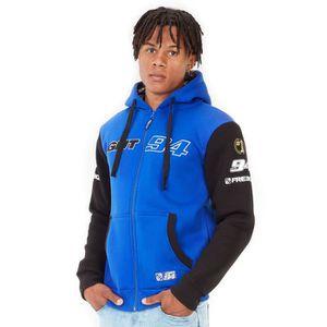 SWEATSHIRT FREEGUN Sweat zippé à capuche GMT94 - Homme - Bleu