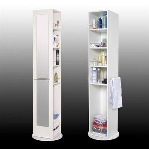 Colonne salle de bain avec miroir - Achat / Vente Colonne salle de ...