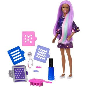 POUPÉE BARBIE - Poupée Couleurs Surprise Violette