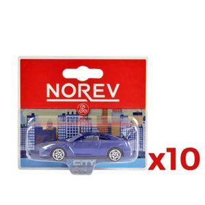 VOITURE - CAMION NOREV 10 voitures miniatures en métal (modèle aléa