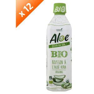 Boisson fruit - légume ALOE DRINK FOR LIFE Lot de 12 Nature Bio Pet 500 m