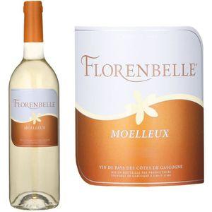 VIN BLANC Florenbelle 2016 Côte de Gascogne -Vin blanc de Ga