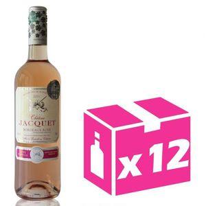 VIN ROSÉ X12 Château Jacquet 2017 - 75cl - Bordeaux Rosé