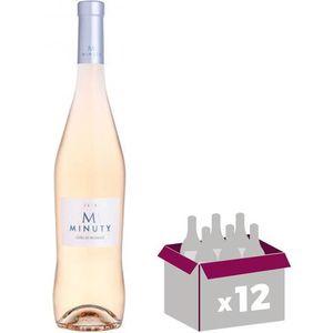 VIN ROSÉ M Minuty 2016 Côtes de Provence vin rosé x12