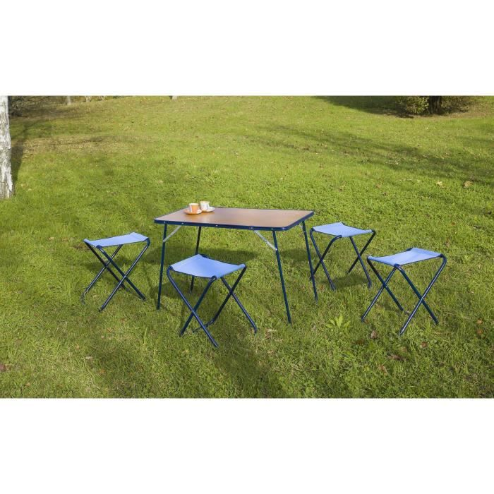 Table Camping Chaise Pliante