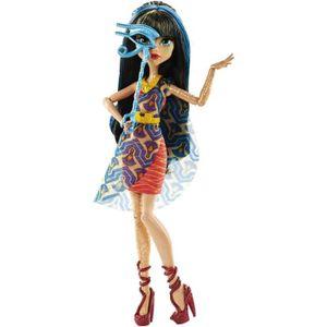 POUPÉE MONSTER HIGH - La Danse des Masques Cleo Bleu