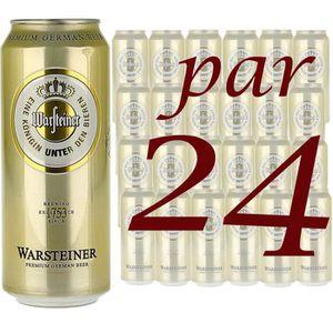 BIÈRE Pack de 24 Warsteiner 50cl