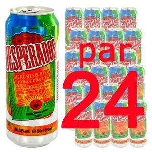 BIÈRE Bière Desperados 50cl x24 5.9°