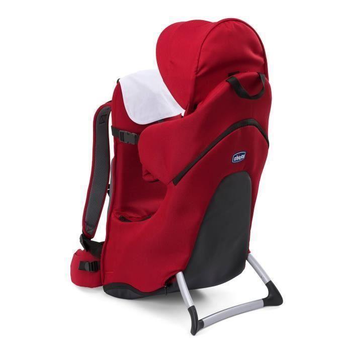 Destockage CHICCO Porte-bébé dorsal FINDER Red - porte bébé au ... 5639c562234