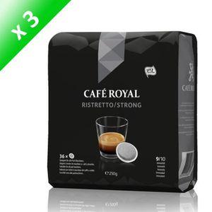 CAFÉ - CHICORÉE Café Royal Ristretto Dosettes Souples Compatibles