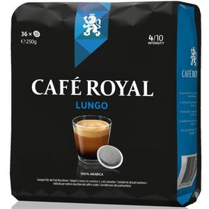 CAFÉ Café Royal Lungo Dosettes Souples Compatibles Sens