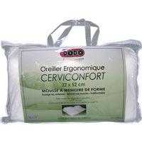 oreiller cerviconfort dodo DODO Oreiller 32 x 52 cm ergonomique Cerviconfort   Achat / Vente  oreiller cerviconfort dodo