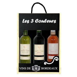 VIN ROUGE Coffret les 3 Couleurs - Chateau Haut Reynaud Bord