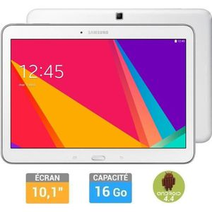 TABLETTE TACTILE Samsung Galaxy Tab 4 10'' Blanche 16Go