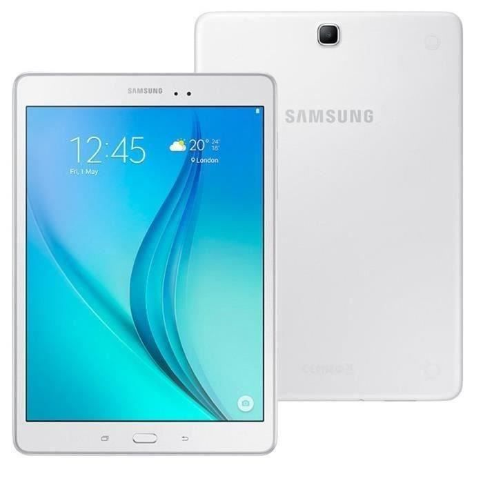 3944590eeeb TABLETTE TACTILE SAMSUNG Tablette Tactile Galaxy Tab E 8 Bl - 9