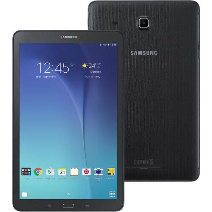 TABLETTE TACTILE Samsung Galaxy Tab E - 9,6'' WXGA - 1,5Go RAM - An