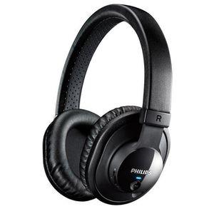 CASQUE - ÉCOUTEURS Philips SHB7150FB Casque audio bluetooth NFC noir