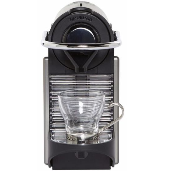 Krups Yy1201Fd Pixie krups nespresso pixie yy1201fd - titane - achat / vente machine à