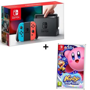 SORTIE CONSOLE NINTENDO SWITCH Pack NINTENDO Console Switch Joy-Cons Neon rouge e
