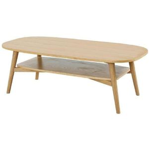 TABLE BASSE WOODY Table basse style scandinave placage bois ch