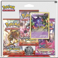 "CARTE A COLLECTIONNER POKEMON Pack XY ""Impulsion Turbo"""