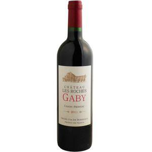 VIN ROUGE Château Les Roches Gaby Canon Fronsac Grand Vin de
