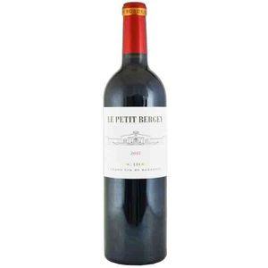 VIN ROUGE Le Petit Bergey Pessac 2012 Léognan  - Vin rouge d