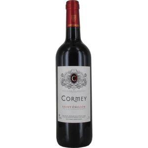 VIN ROUGE Cormey 2014 Saint Emilion - Vin rouge de Bordeaux