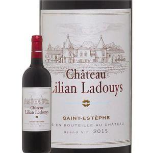 VIN ROUGE Château Lilian Ladouys 2015 Saint Estèphe - Vin ro