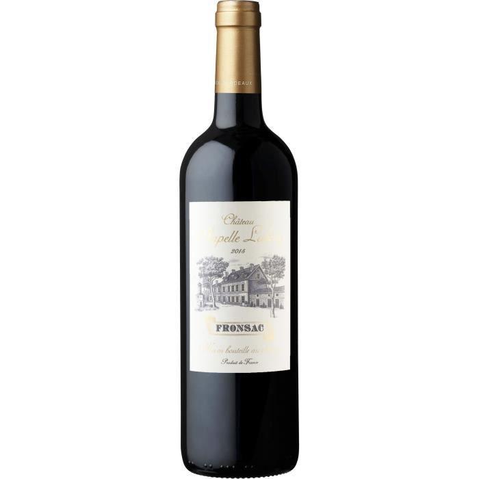 VIN ROUGE Château Chapelle Labory 2015 Fronsac - Vin rouge d