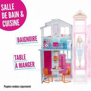 Maison barbie achat vente jeux et jouets pas chers for Accessoire maison barbie