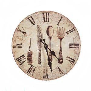 Horloge beige achat vente horloge beige pas cher cdiscount for Recherche pendule murale