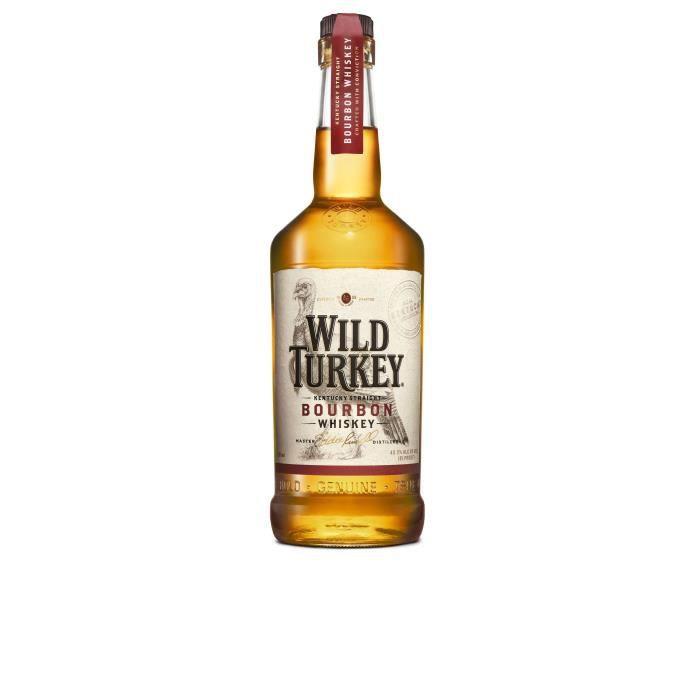 WHISKY BOURBON SCOTCH Wild Turkey 81 70cl 40.5°