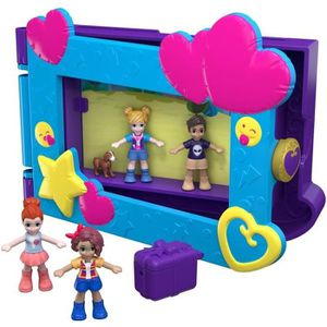 CIRCUIT POLLY POCKET - Polly & ses Amis Prennent La Pose