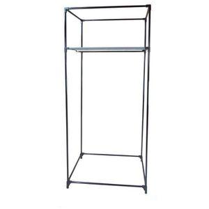 housse de penderie metal achat vente housse de penderie metal pas cher soldes d s le 10. Black Bedroom Furniture Sets. Home Design Ideas