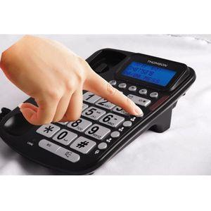 telephone fixe avec fil achat vente pas cher. Black Bedroom Furniture Sets. Home Design Ideas