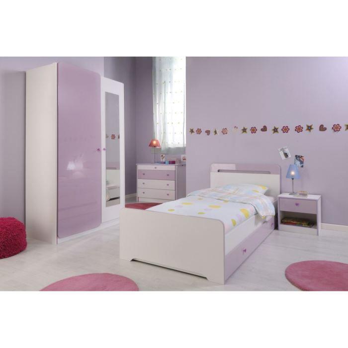 Ladys chambre compl te ladys enfant achat vente for Chambre fille rose et violet