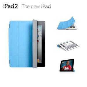 HOUSSE TABLETTE TACTILE Apple iPad Smart Cover bleu