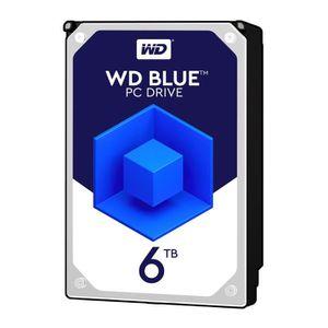 DISQUE DUR INTERNE WD Blue 6To 64Mo 3.5    WD60EZRZ