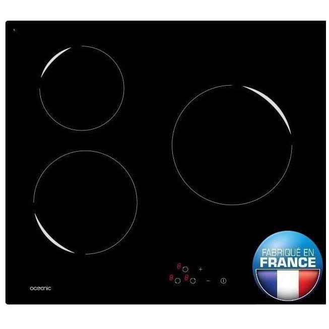 design intemporel 46ded fd3b1 Plaque de cuisson vitroceramique 3 feux